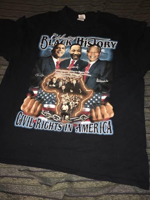 Vintage Vintage Black History Obama Martin Luthers King Malcolm X