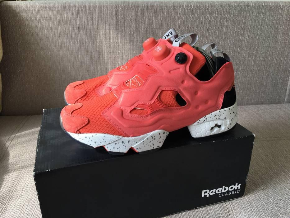 "7f3baea0214 Reebok End clothing x End. Clothing x Reebok Instapump Fury OG ""Pink Salmon"""