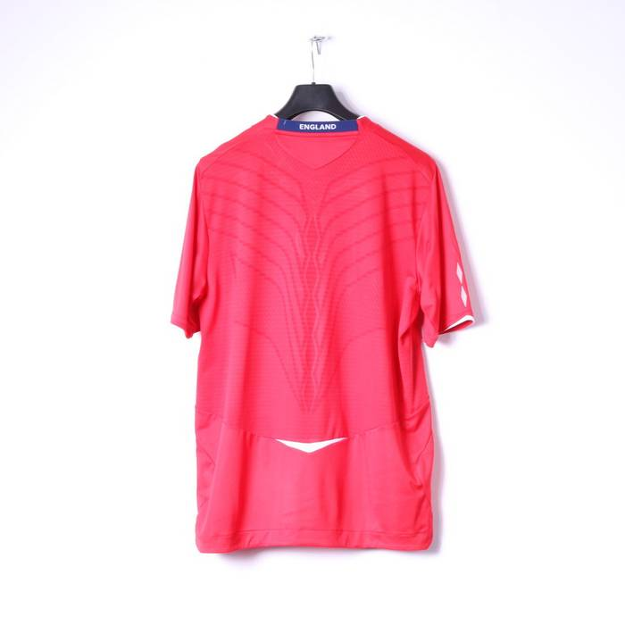 Umbro Umbro Mens XL Shirt Red Nationale England Football Jersey Top 10746  Size US XL   5a7a09834