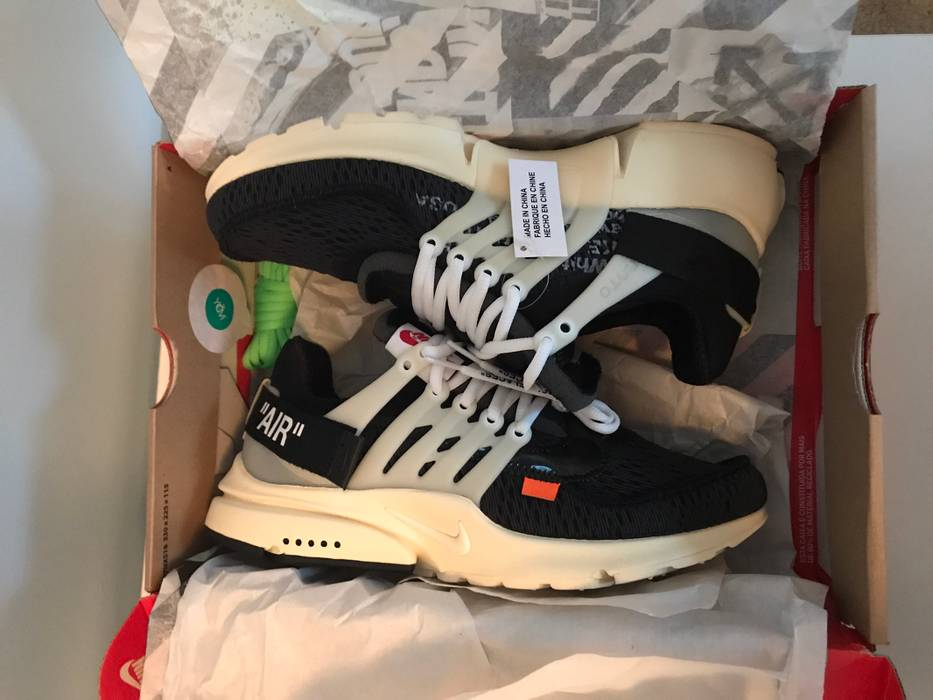 710a8392498 Nike Nike Air Presto X Off White Collab Size 9 - Low-Top Sneakers ...