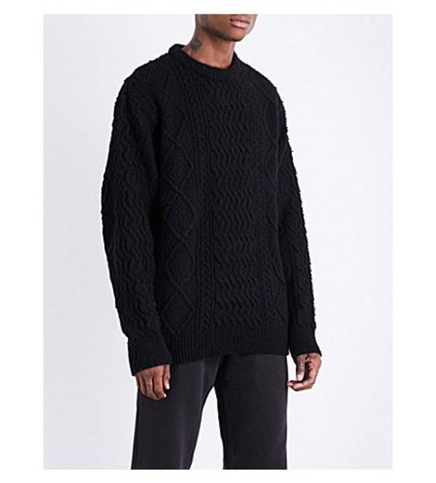 d64990c3e Yeezy Season Cable Sweater Size m - Sweaters   Knitwear for Sale ...