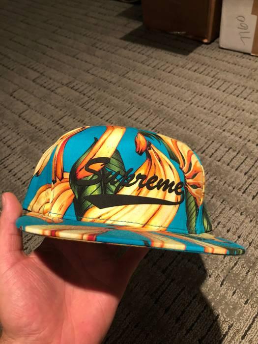 Supreme Supreme Banana 5-Panel Hat Snapback Size one size - Hats for ... 246042b7a85