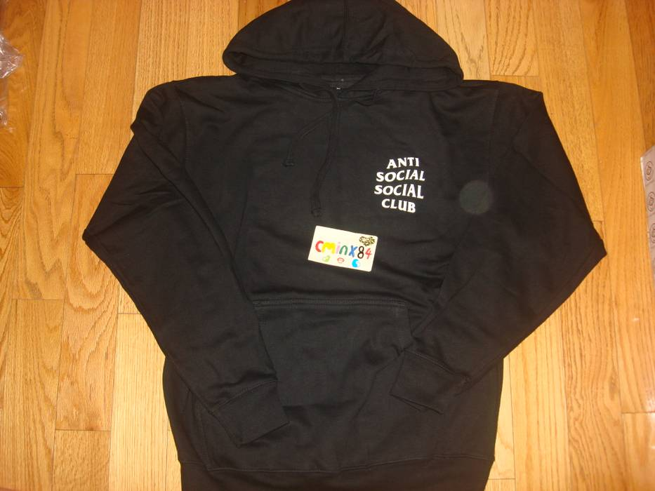 1010e3a474cb Antisocial Social Club Antisocial Social Club ASSC South Korean Flag Black  Hoody Sz M Size US