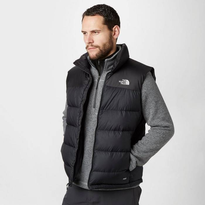 f64a932a5b The North Face Nuptse Vest Black Small Size s - Vests for Sale - Grailed