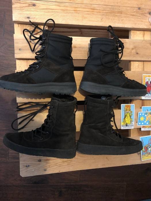 7f89123b3 Yeezy Season Yeezy Season 3 Military Boot Onyx Size 10 - Boots for ...