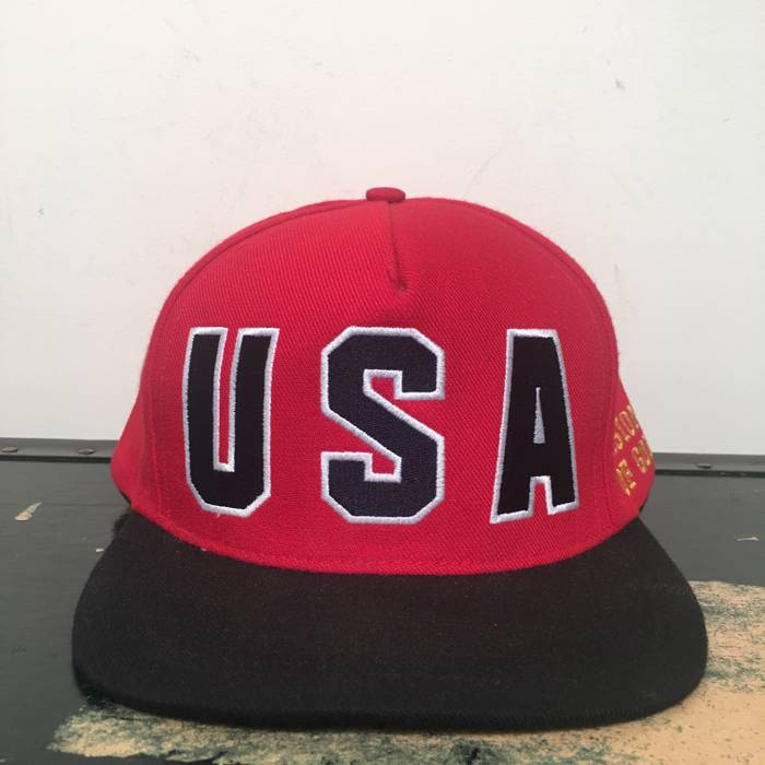 1f9da32a012 Supreme SS12 USA Vision of Gold Snapback Hat Size one size - Hats ...