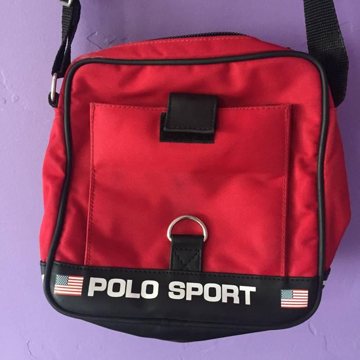 7574fb86425 Polo Ralph Lauren Vintage 90s Polo Sport by Ralph Lauren Satchel Crossbody  Messenger Shoulder Bag Purse