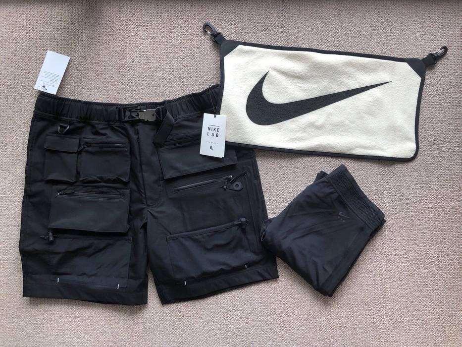 Nike alyx hybrid shorts with legging towel black cargo Size US 30   EU 46 22bc6ec5b