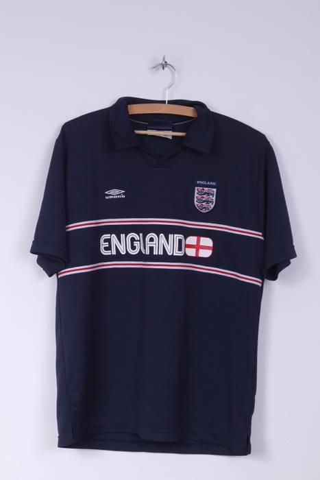 Umbro Umbro National England Football Team Mens L Polo Shirt Short ... 594edc27c