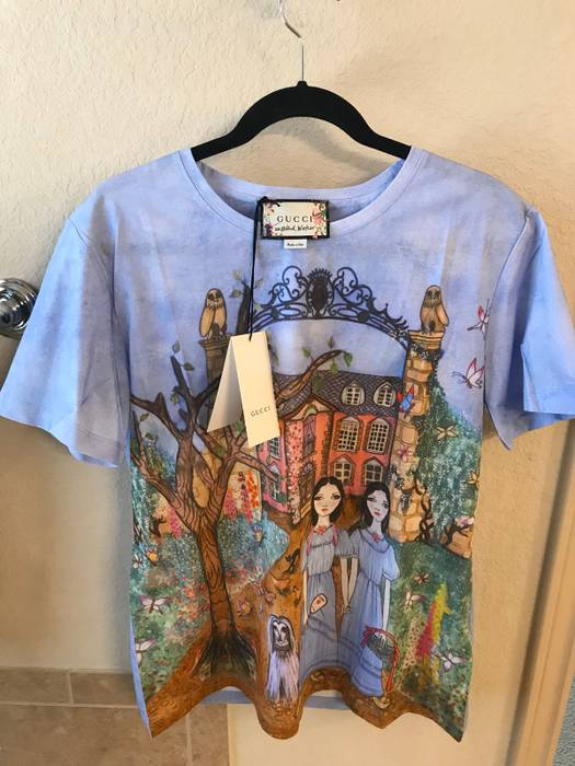 a95986a835904 Gucci Gucci Unskilled Worker T Shirt Size m - Short Sleeve T-Shirts ...