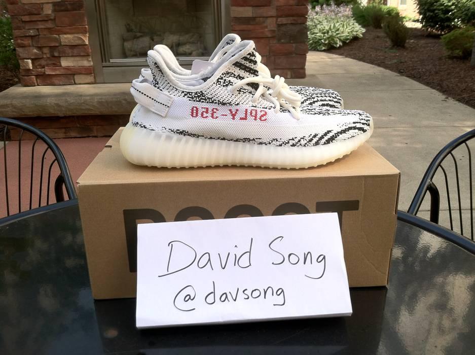 aa5692e247588c Adidas Adidas Yeezy Boost 350 V2 Zebra   FREE SHIPPING!!   Size 9 ...