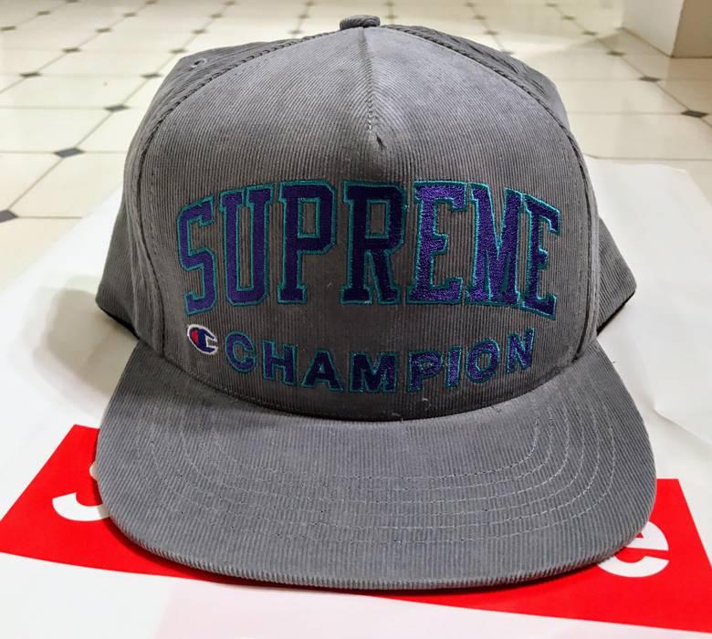 9b7e424881b Supreme Supreme x Champion Gray 5 Panel Cap Hat Size one size - Hats ...