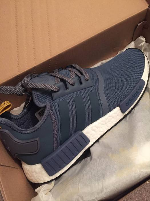 56cf819c8e454 Adidas Adidas NMD R1 Tech Ink Navy   Yellow Size 10 - Low-Top ...