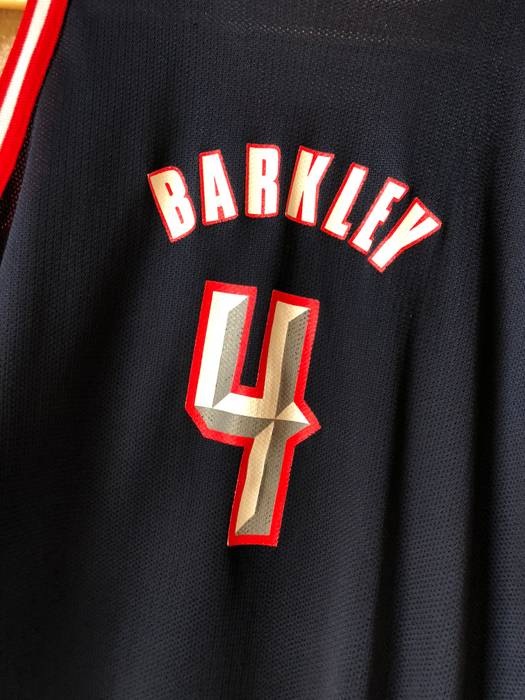 20e6f64fa Vintage 90s Charles Barkley Houston Rockets Basketball Jersey Size US S    EU 44-46