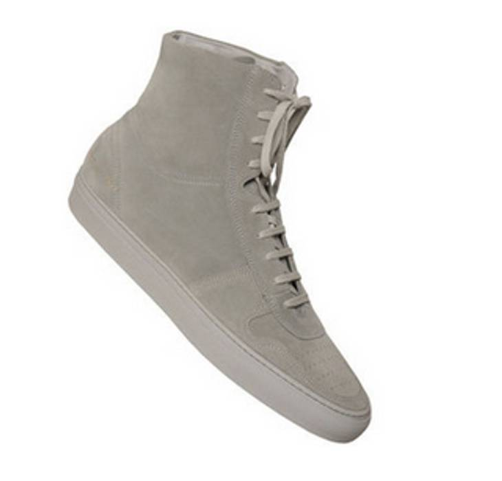 879a5f59aa2 Common Projects Basketball Hi Grey Suede Sz.44 Size 11 - Hi-Top ...