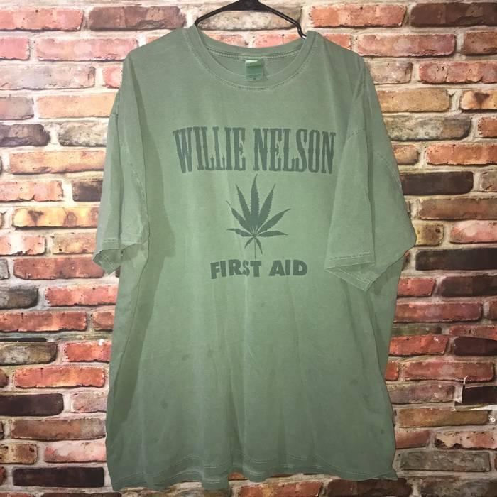 1988ffff Vintage Vintage Willie Nelson Weed Tour Tee Size xxl - Short Sleeve ...