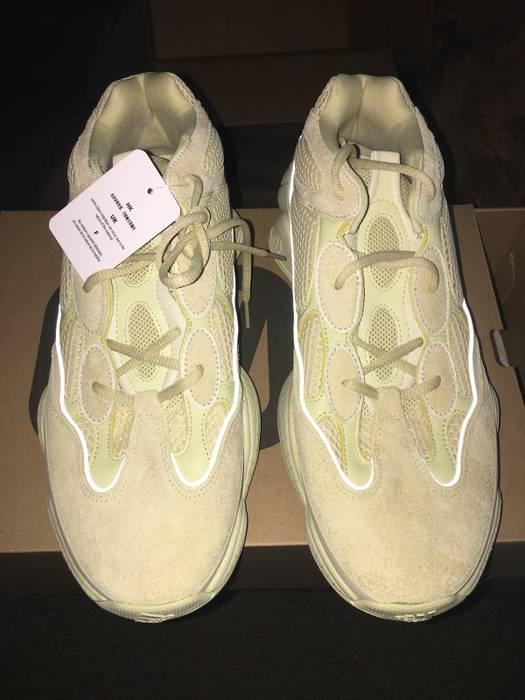 438b970702f71 Adidas Kanye West Men s Adidas Yeezy 500 Desert Rat Super Moon Yellow Size  12 Size US