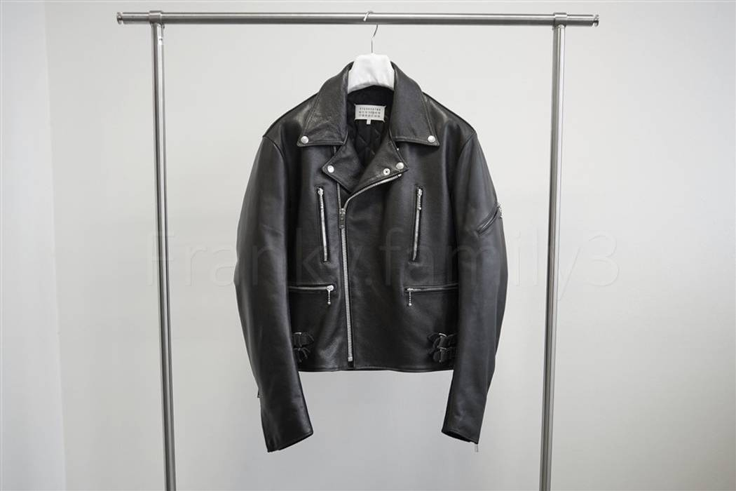 d9ffae7155 Maison Margiela. Leather Jacket BLACK size 48 MULTI ZIP. Size  US M   EU 48- 50 ...