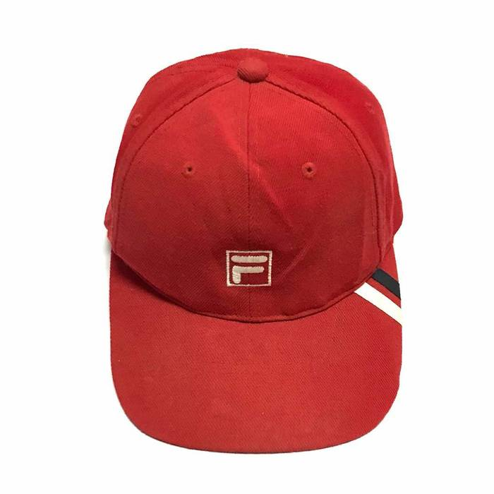 500adb8ba9d Fila Rare!! Vintage Fila Baseball Cap Snapback One Size Fits All ...