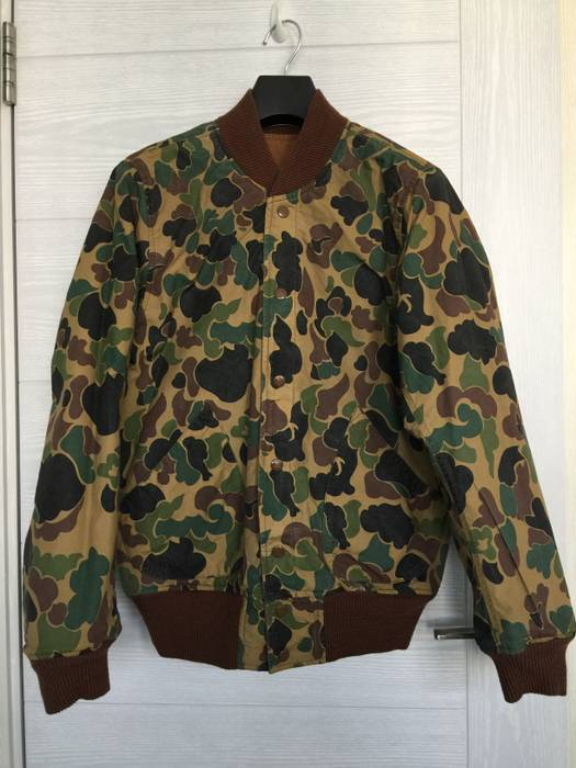 d3de1f1cfd Rrl Camo Double Sided Waterproof Jacket  New  Size m - Bombers for ...