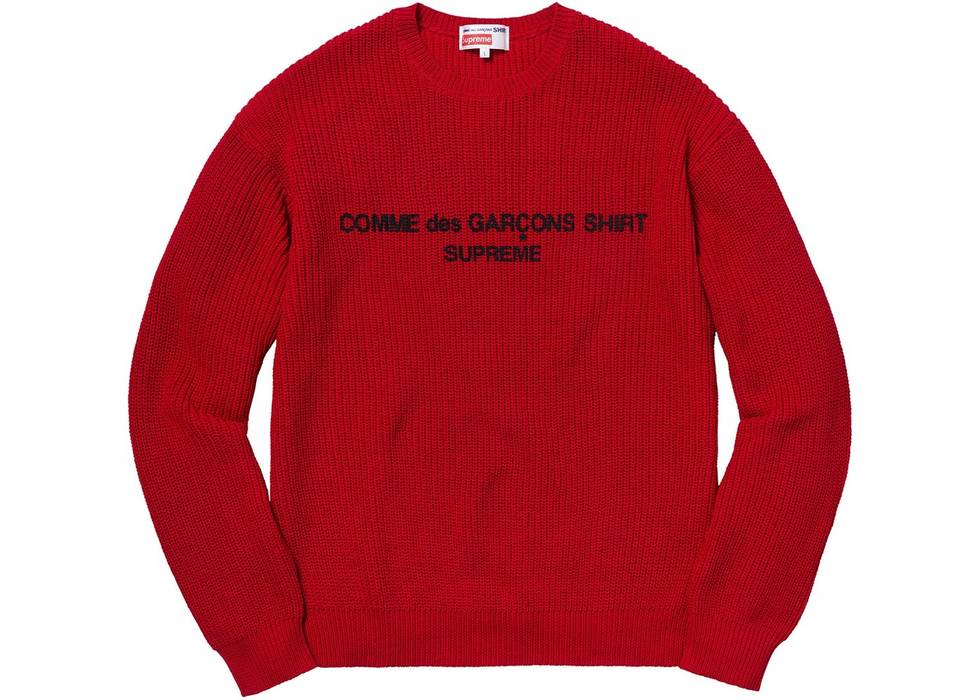 Supreme Supreme X Comme Des Garcons Sweater Size M Sweaters