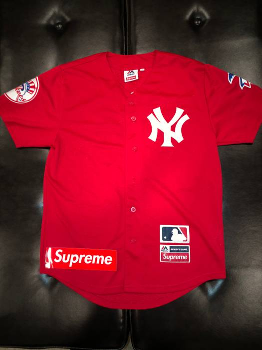 Supreme Supreme Yankees baseball jersey Size m - Jerseys for Sale ... f1d5e1c2e83