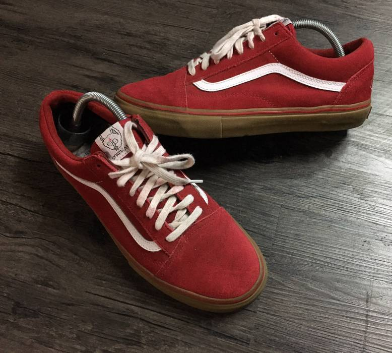 Vans Syndicate Red Golf Wang Size 10.5 - Low-Top Sneakers for Sale ... 60fad3352