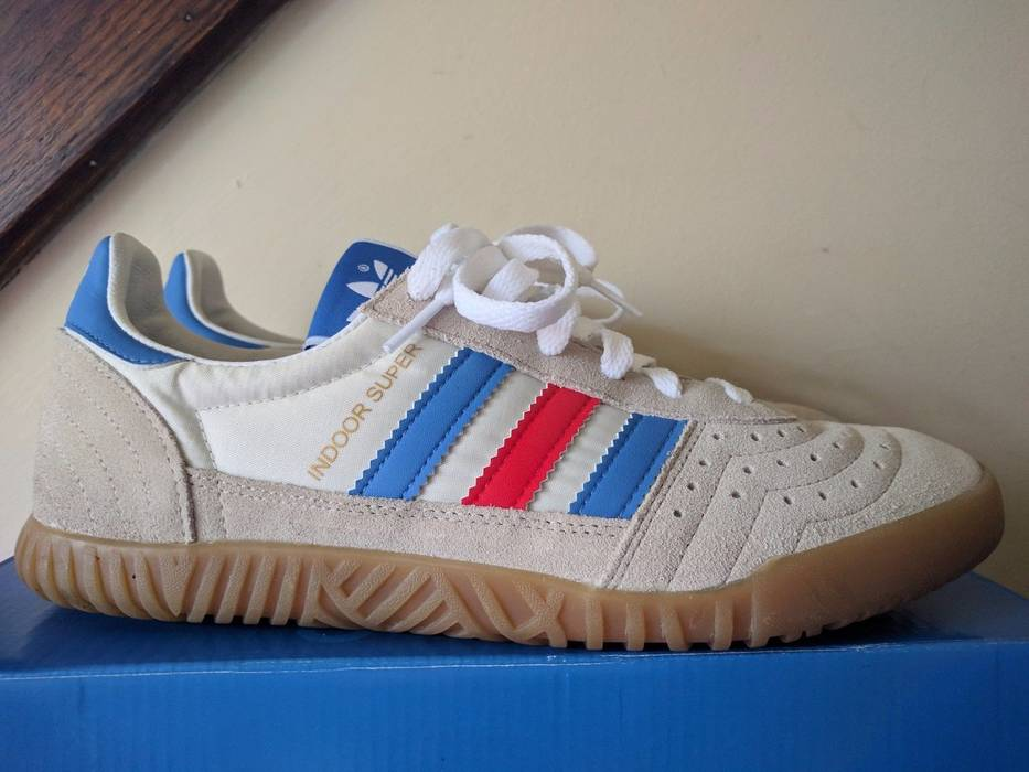 Adidas Indoor Super Spzl Blue - Best Pictures Of Adidas Carimages.Org a72585a10