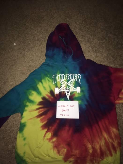 Thrasher Thrashed Tye Dye Skate Goat Hoodie Size xl - Sweatshirts ... 49b5446c4ee4