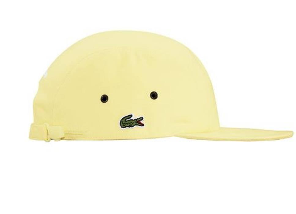 Supreme Supreme X Lacoste Pique Camp Cap Yellow Size one size - Hats ... 18fcaafd944e