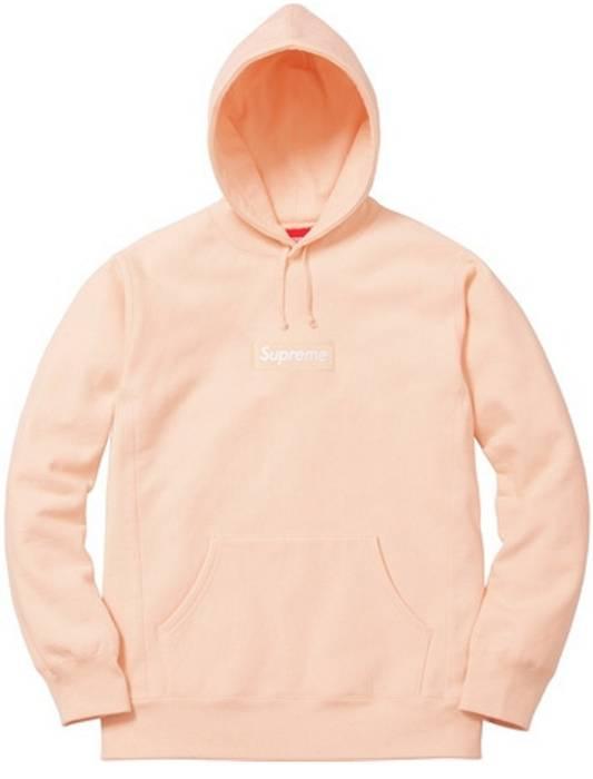 ba1f6722b604 Supreme Supreme Box Logo Peach Size m - Sweatshirts   Hoodies for ...