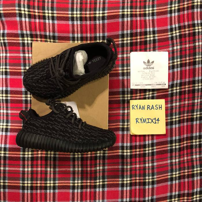 0d48e71b396a Adidas Kanye West Adidas Yeezy Boost 350 V1 Infant - Pirate Black BB5355  Size US 7