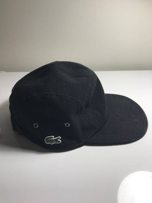 Supreme Supreme X Lacoste 5 Panel Hat Black Size one size - Hats for ... 0288f9887b7