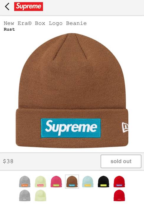 Supreme Supreme Rust Bogo Beanie Size one size - Hats for Sale - Grailed 5159d807a5b
