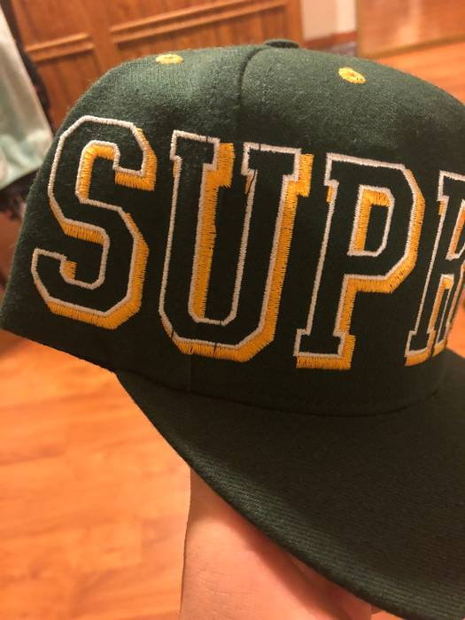 Supreme Supreme Banner SnapBack Size one size - Hats for Sale - Grailed 98aa42939fb