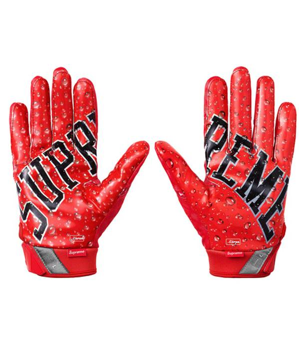 Supreme Supreme Nike Vapor Jet 4 0 Football Gloves Red Small Size