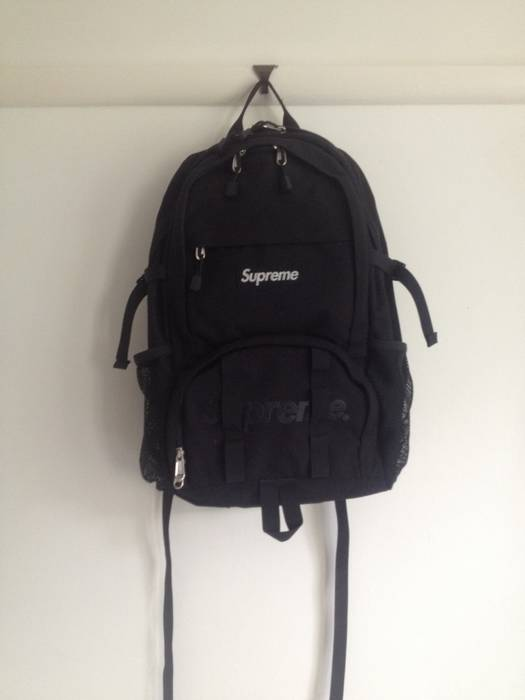 more photos 96ef2 a6f10 supreme ss15 backpack