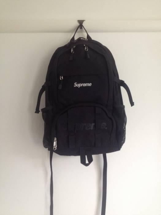 more photos 6aea5 688e0 supreme ss15 backpack