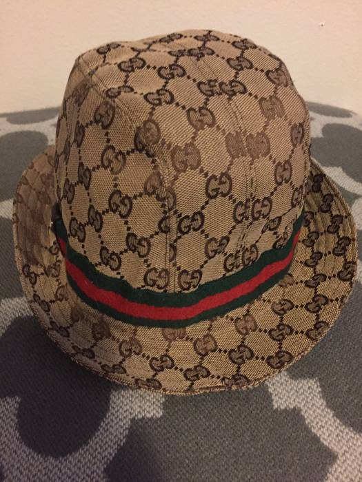 f27aa7dbe56 Gucci Gucci Bucket Hat Size one size - Hats for Sale - Grailed