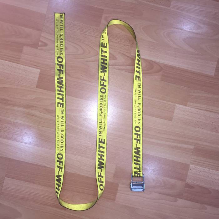 4097fe4dde2c Off-White Off White Belt Size one size - Belts for Sale - Grailed