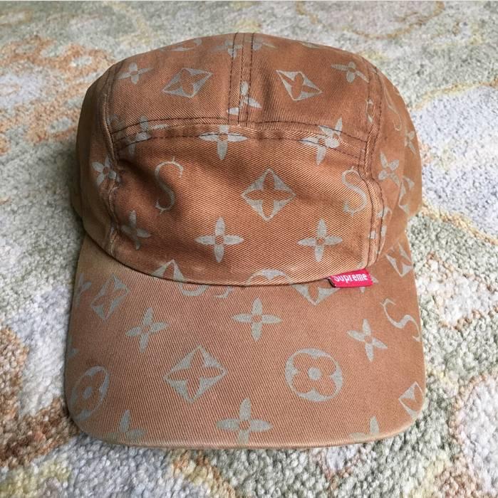 879856d61ae Supreme SUPER RARE Supreme LV Monogram Camp Cap Size one size - Hats ...