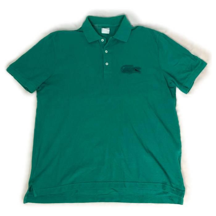 25ce27ef Lacoste Lacoste Men S Polo Shirt Sz 7 Xl Big Crocodile Logo Patch