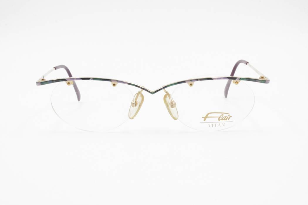 3849f60a1d Vintage Flair Titan Nickel free Jet Set 699 Eyeglasses frame sunglasses  frame