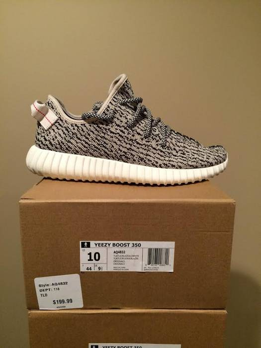 45a241d4825a0 Adidas Adidas Yeezy Boost Turtle Finishline Size 10 - Low-Top ...