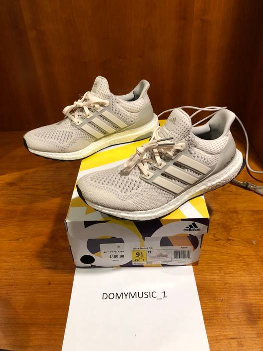 24a7d340594607 Adidas Adidas ultra boost 1.0 light tan cream chalcks Size US 9.5   EU 42-