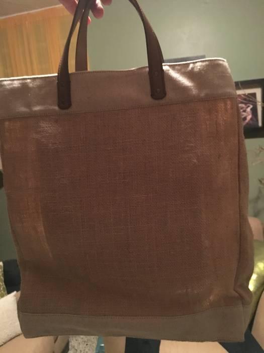 Dolce   Gabbana DOLCE   GABBANA Leather And Canvas-Trimmed Raffia Tote Bag  (BN 3a4cf15be28e3