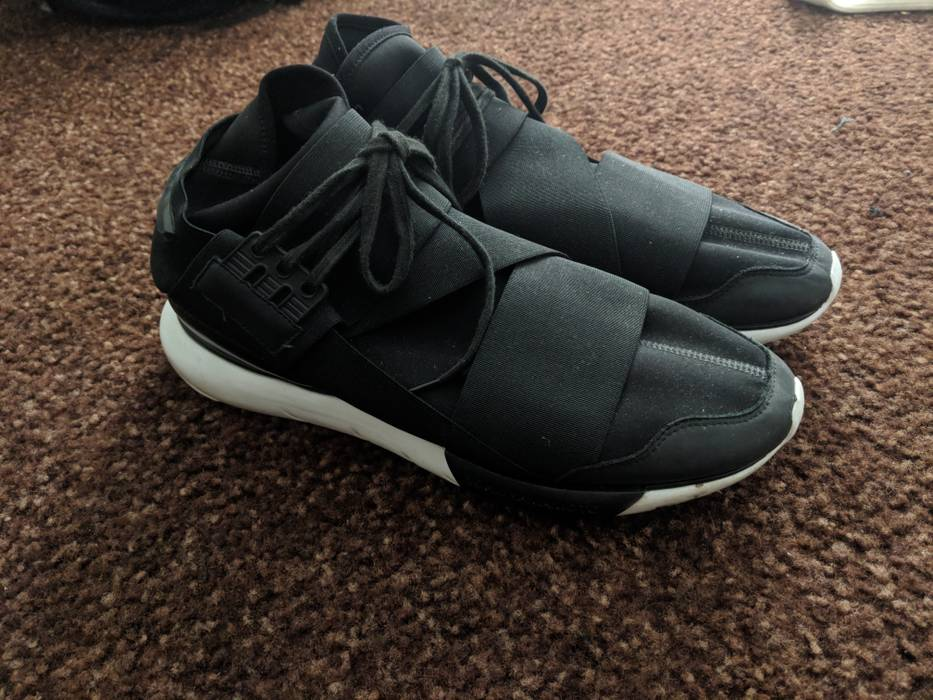 404a83546f6b2 Adidas Y-3 Qasa High Size 12 - Hi-Top Sneakers for Sale - Grailed