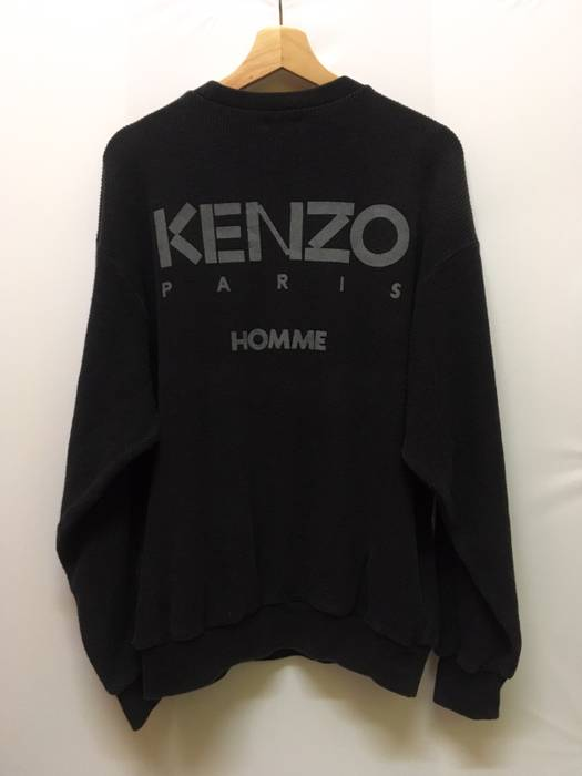 a0cd54f5d600 Kenzo Vintage Kenzo Paris Homme Sweater Sweatshirt Pull Over Jacket Made In  Japan Size US L
