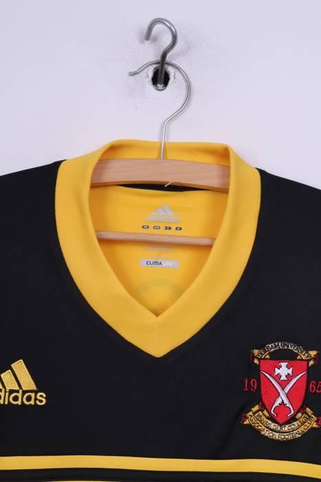 54ff9ade2cc Adidas Adidas Durham University Football Club 1965 Mens L Shirt Jeresy Black  Yellow Gregory  45