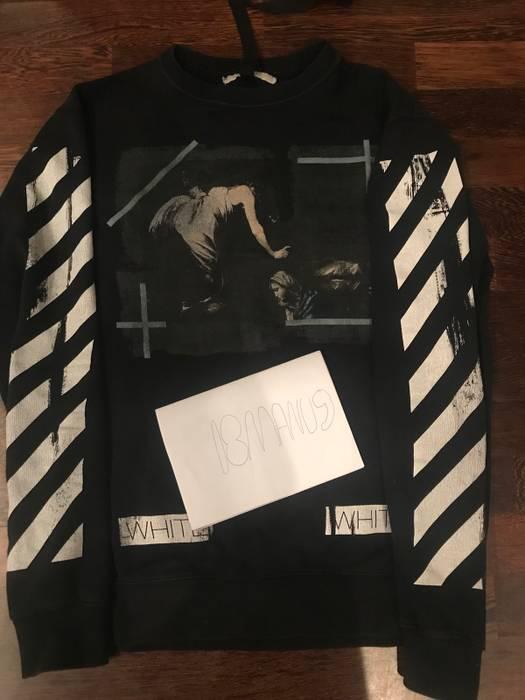 24bbdddbd5 Off-White Black Caravaggio Annunciation Size m - Sweaters   Knitwear ...